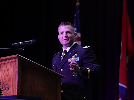 Lieutenant Colonel Rick Frank, United States Army