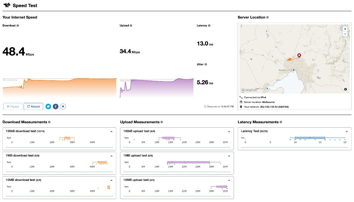 Internet Speed Test: Measure Latency & Jitter