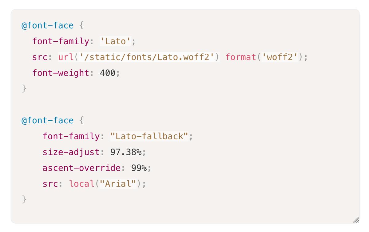 A New Way To Reduce Font Loading Impact: CSS Font Descriptors