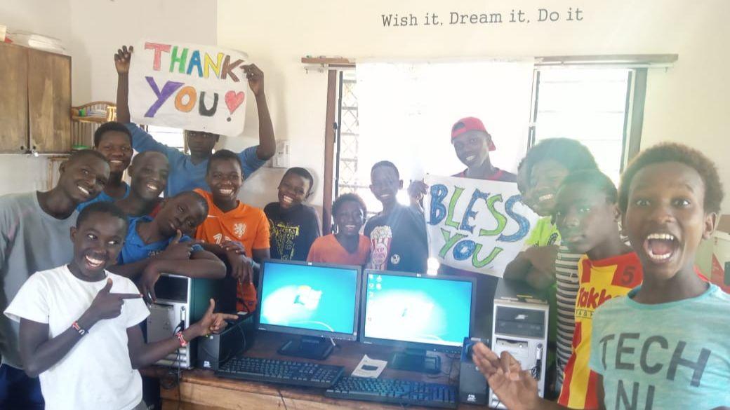 Computers donatie