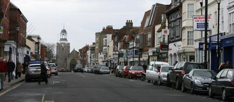 Lymington High Street