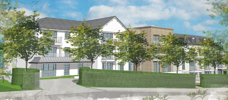 Proposed development Lymington