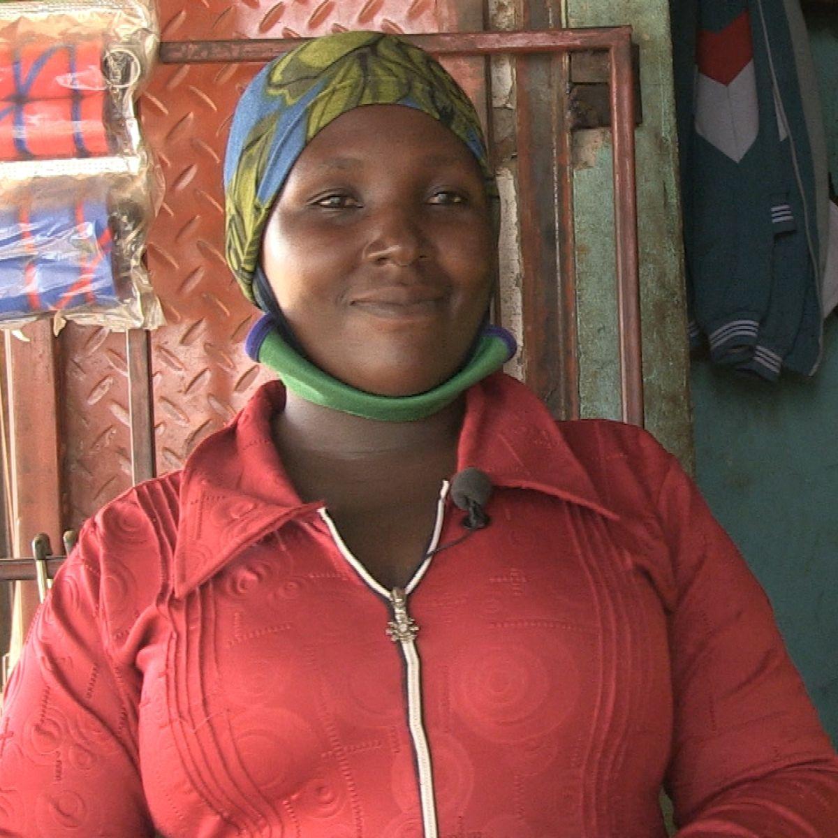 Quelle: SRF, Sumaya von der UPWOSED Spargruppe in Uganda
