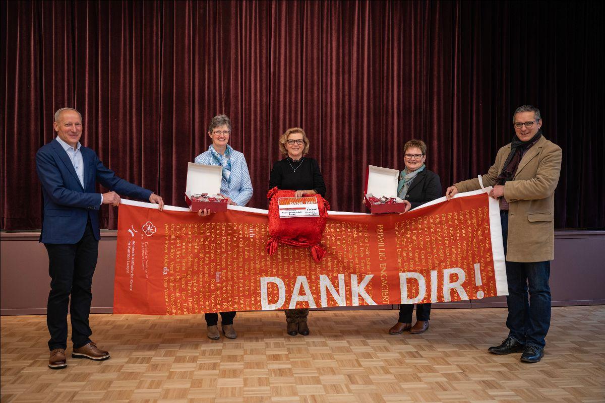 Frauenverein Weggis erhält den «Dank dir»-Preispreis der Katholischen Kirche im Kanton Luzern. Foto: lukath.ch / Roberto Conciatori