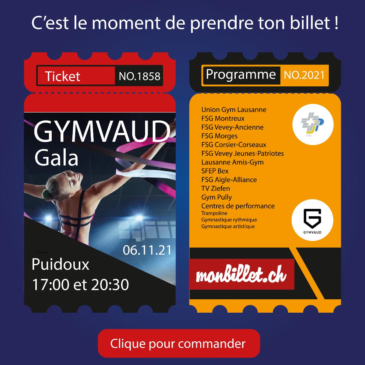 Gala Gym Vaudois @ salle du Forestay