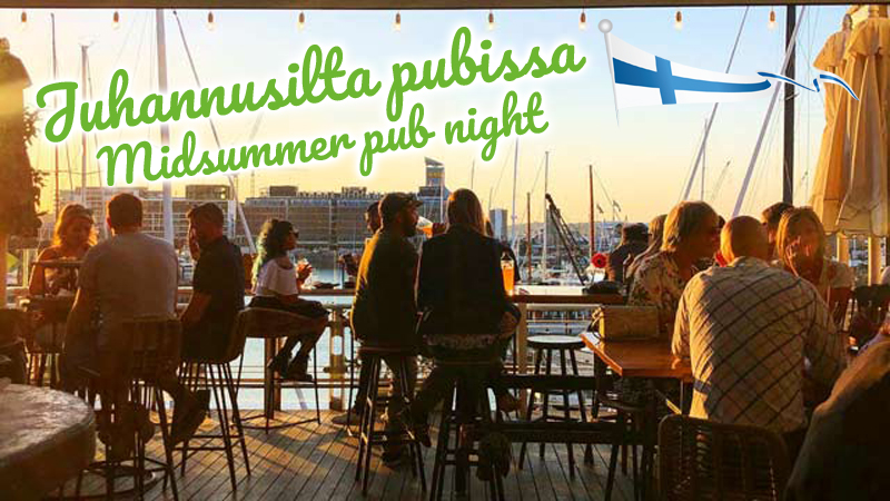 Juhannusilta pubissa • Midsummer pub night @ Dr Rudi's Rooftop Brewing Co