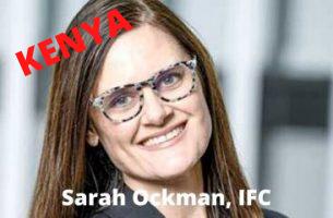 Sarah on IFC Investment in TWIGA