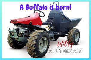 New Buffalo Tractor from ERREPPI