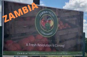 ZAMBIAFresh Market launch