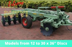 ERDVARK Extra Heavy Duty Disc Harrow