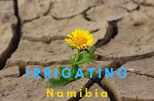 Irrigating Namibia with CHERRY IRRIGATION