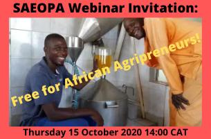 SAEOPA Webinar Invitation