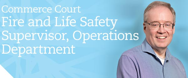 Commerce Court Fire & Life Safety Supervisor, Operations Department