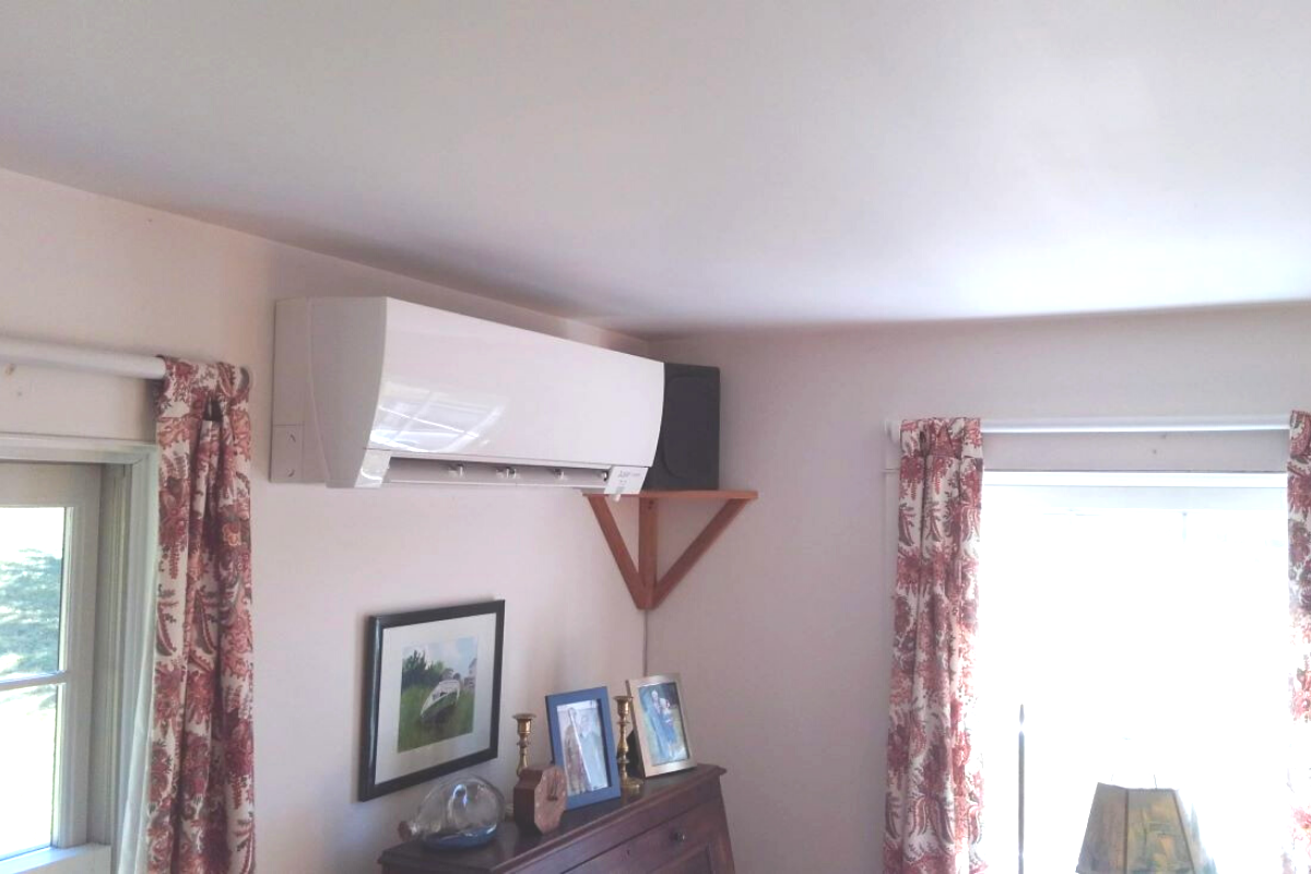 Air-source heat pump indoor unit