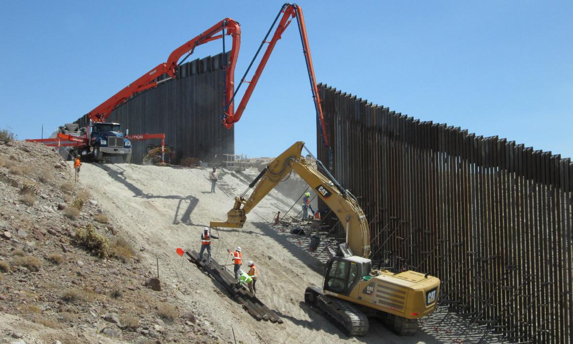 Mauerbau Mexiko