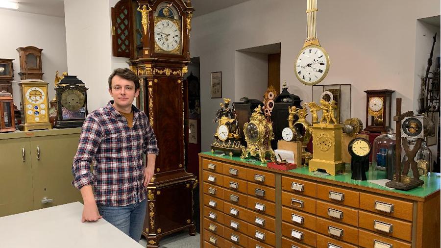 Nicolas Uhl, Uhrmacher in Ste. Croix