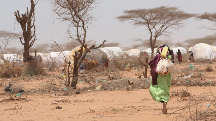 Das Flüchtlingslager Dadaab in Kenia