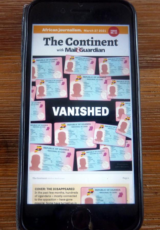 """Digitale Wochenzeitung """"The Continent"""""""