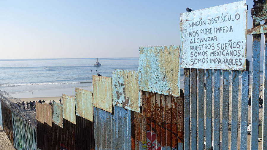 Mauer Mexiko