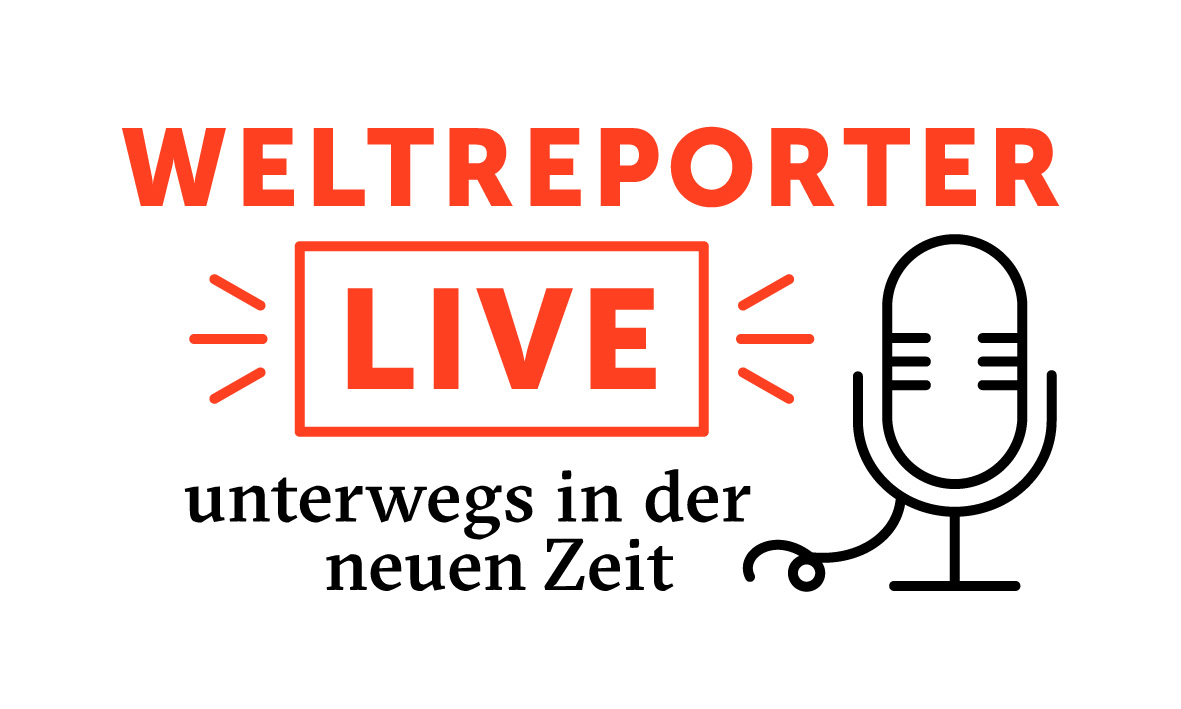 Veranstaltungslogo Weltreporter Live