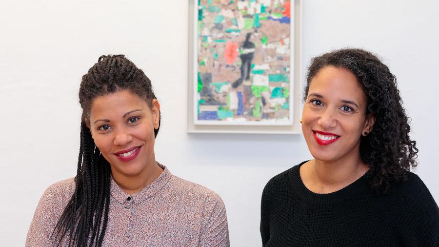 Julia Grosse und Yvette Mutumba