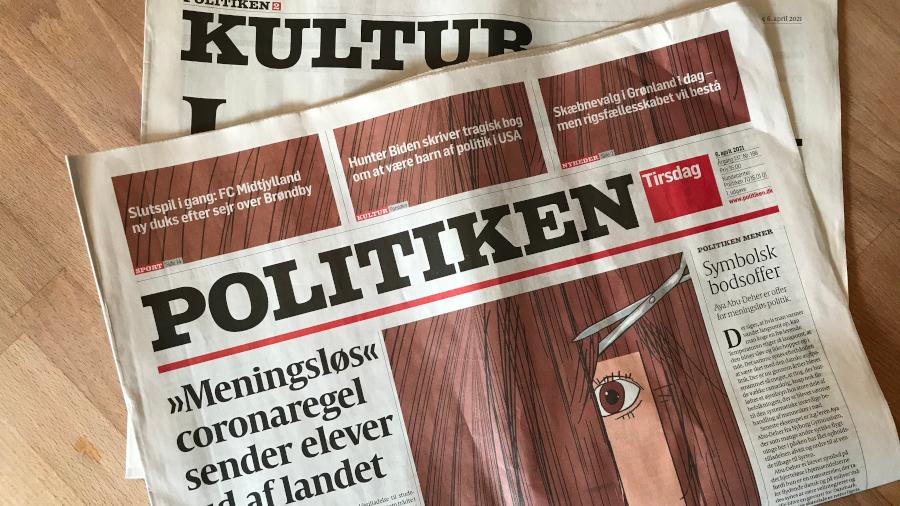 Zeitungstitel Politiken