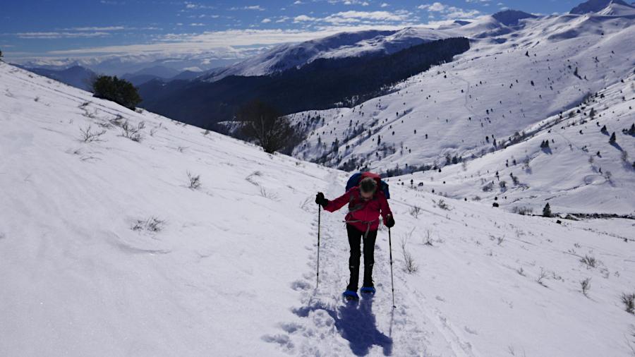 Skiwandern in den Pyrenäen
