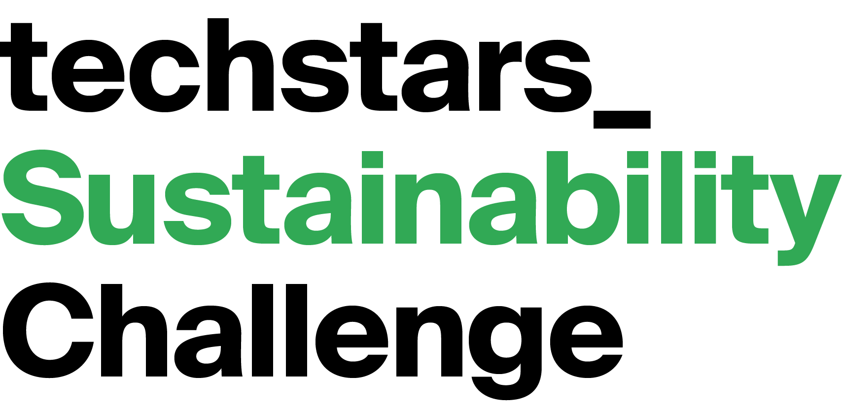 Techstars Sustainability Challenge