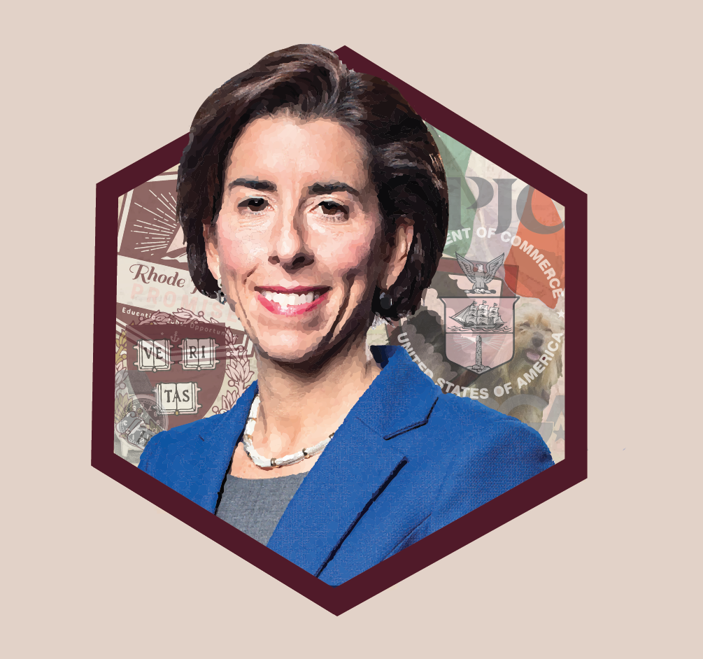 Table For 12, Please: Gina Raimondo Wants to Get America Back to Work