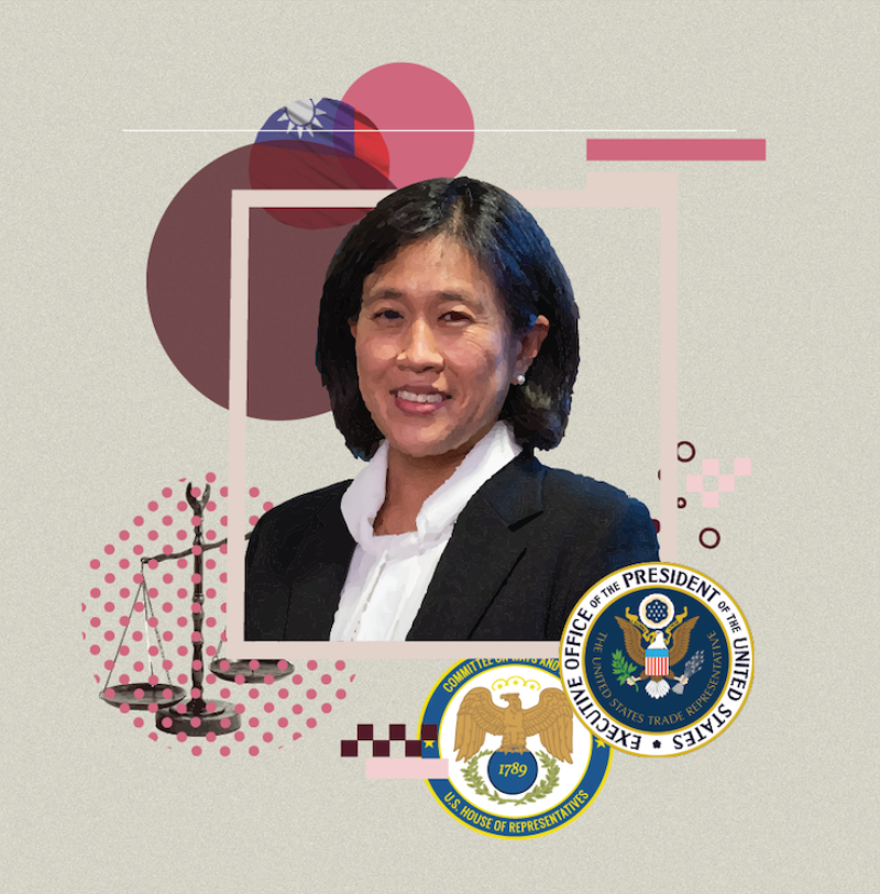 Table For 12, Please: Katherine Tai, U.S. Trade Representative
