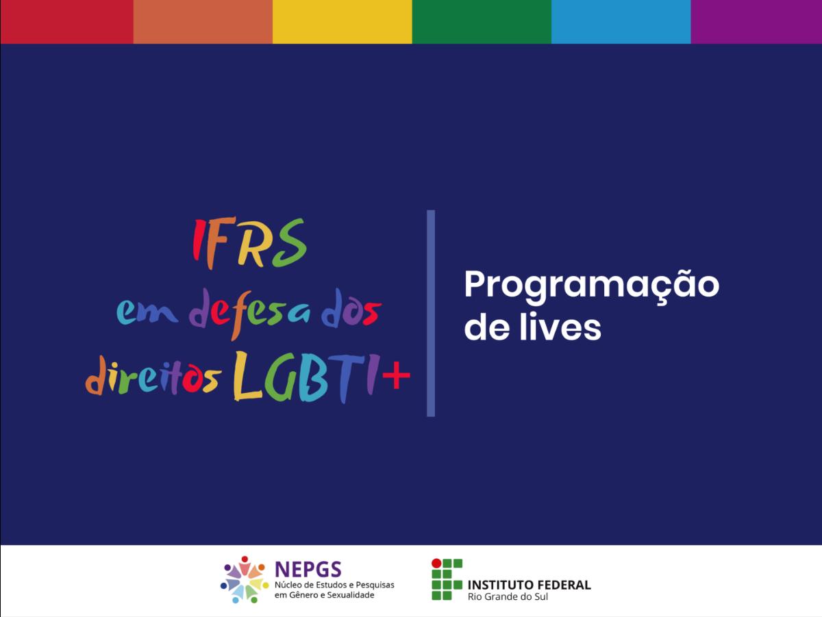 IFRS em defesa dos direitos LGBTI+ [Arte: Nepgs/Naaf]