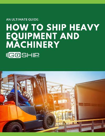 How to Shipping Heavy Equipment & Machinery