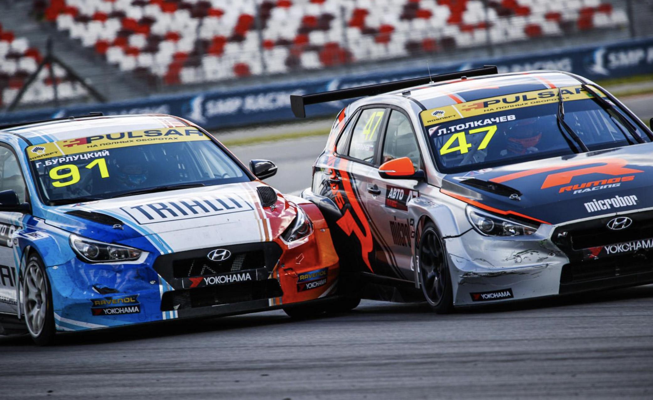 Grigory Burlutsky & Lev Tolkachev - TCR Russia - Moscow Raceway