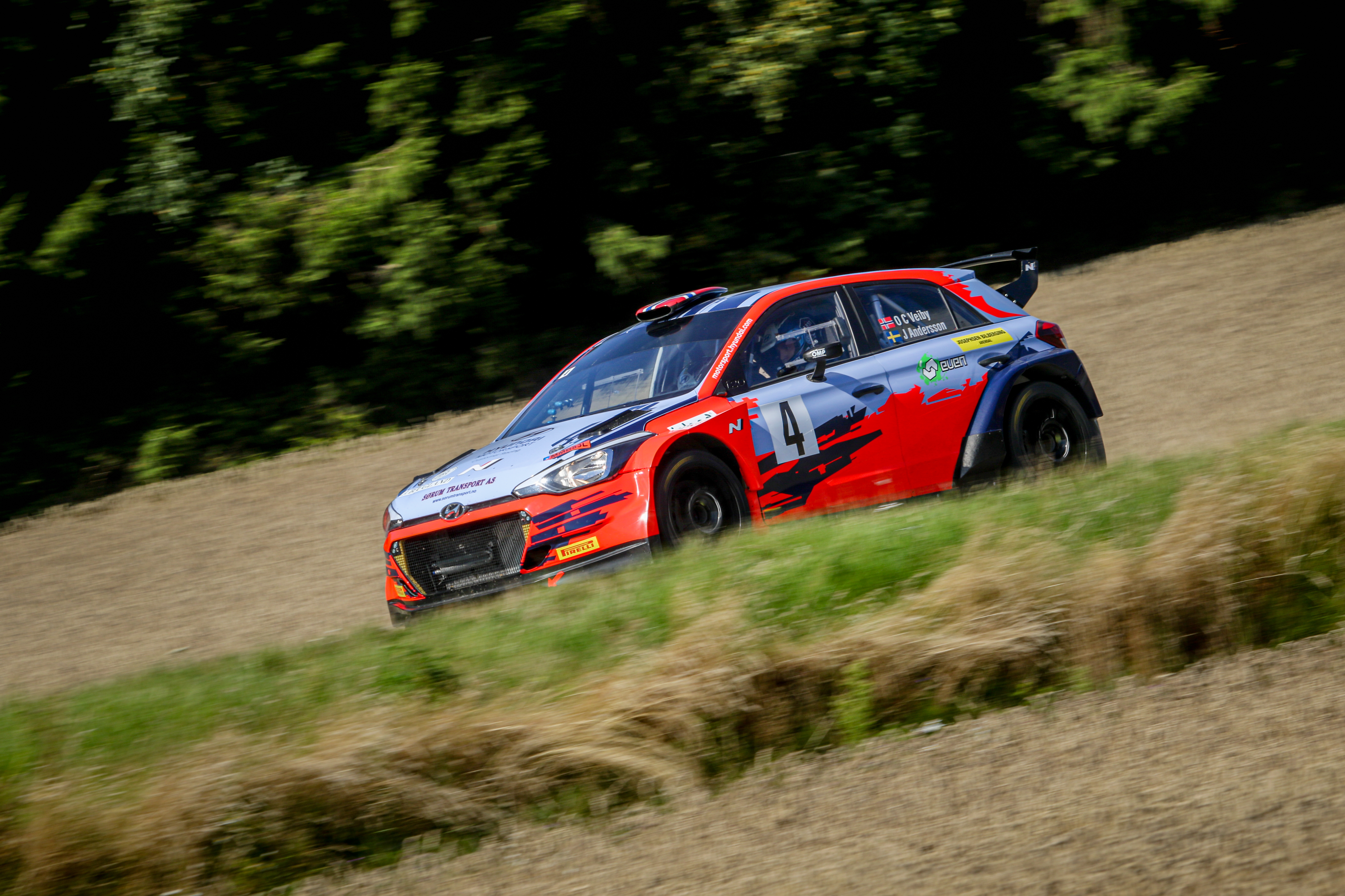 Ole Christian Veiby - i20 R5 - Sommer Rally Grimstad
