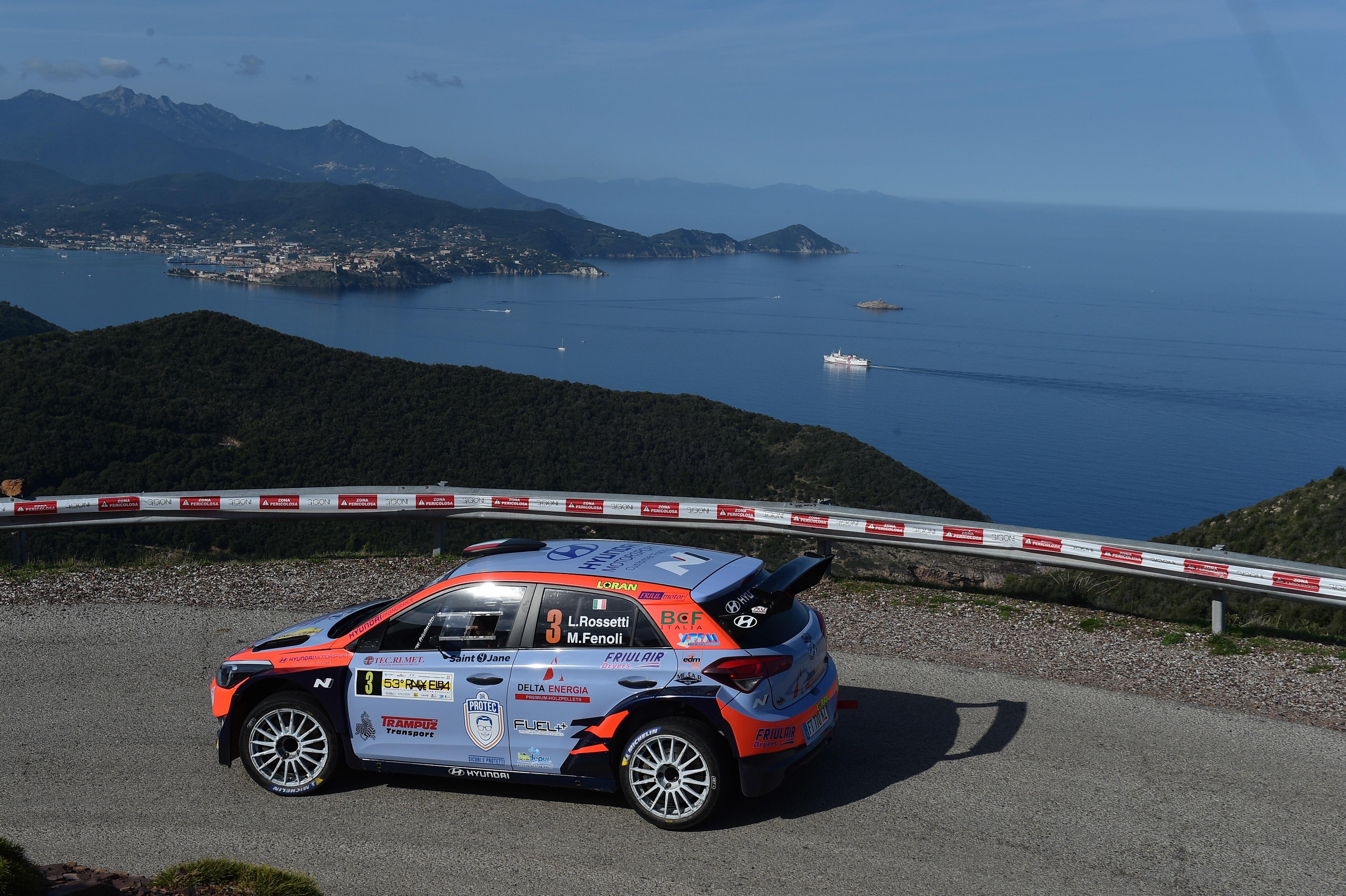 Luca Rossetti - Rallye Elba
