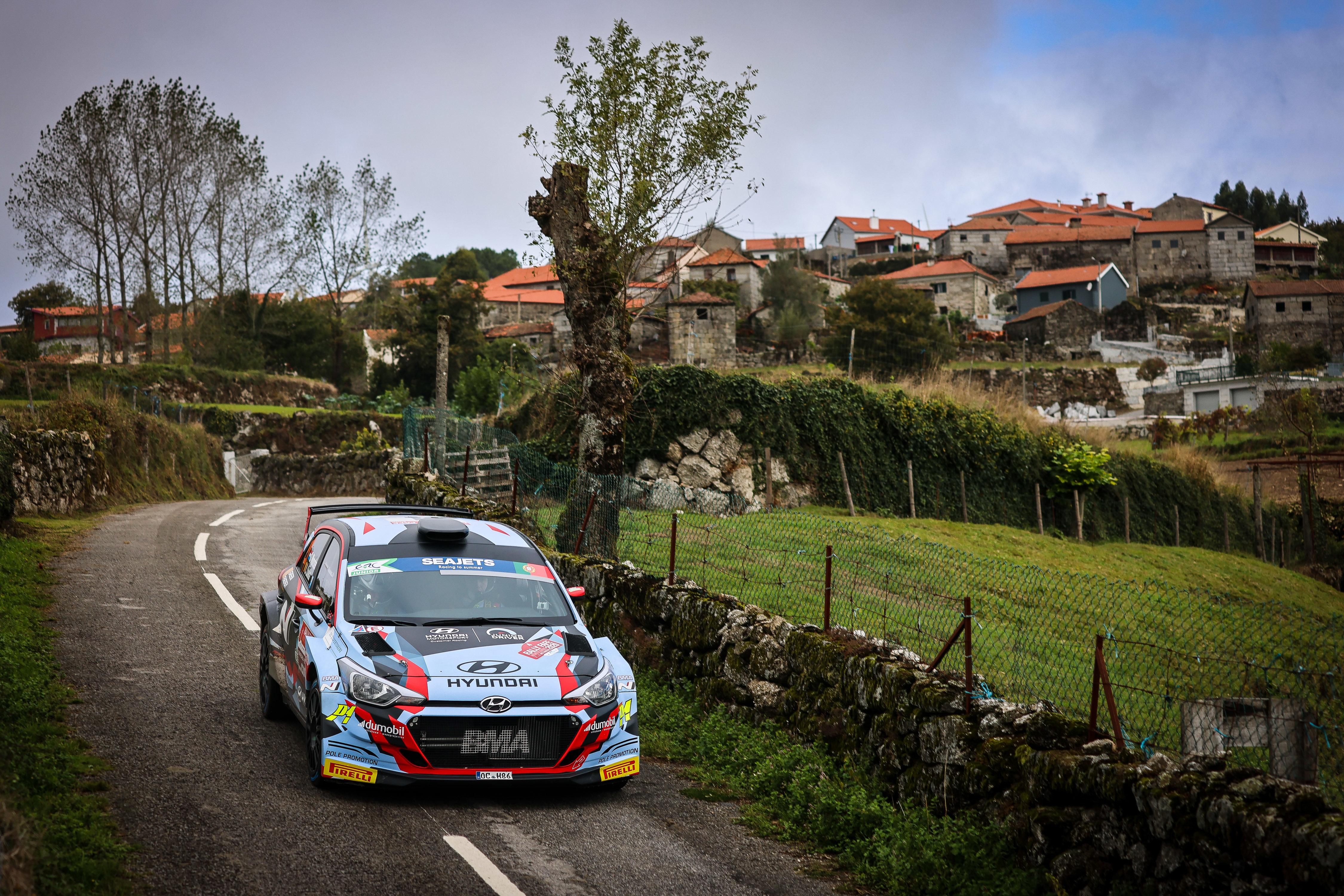 Gregoire Munster - Rally Fafe Montelongo
