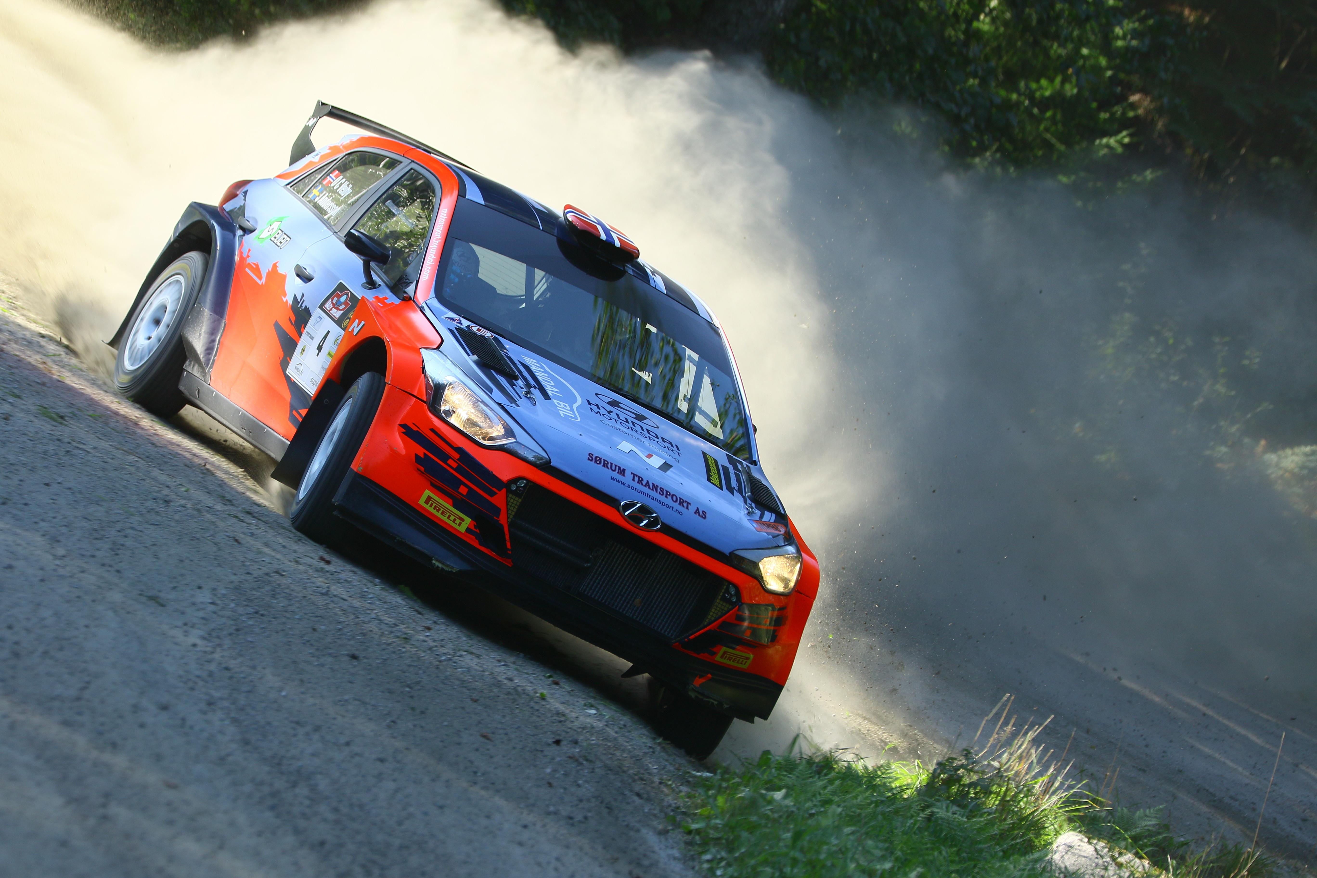 Ole Christian Veiby - Rally Sorland - i20 R5