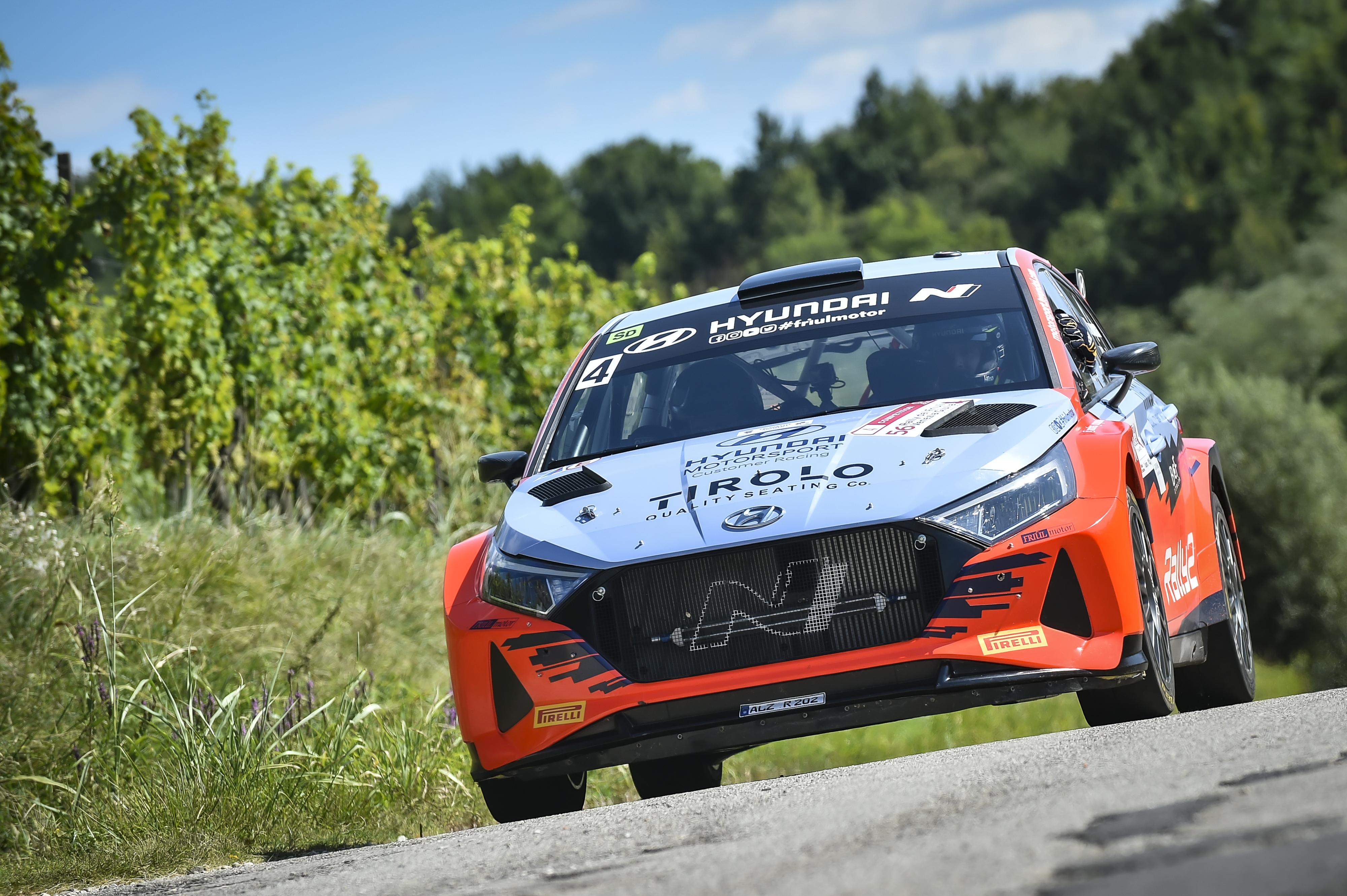 Andrea Crugnola - i20 N Rally2