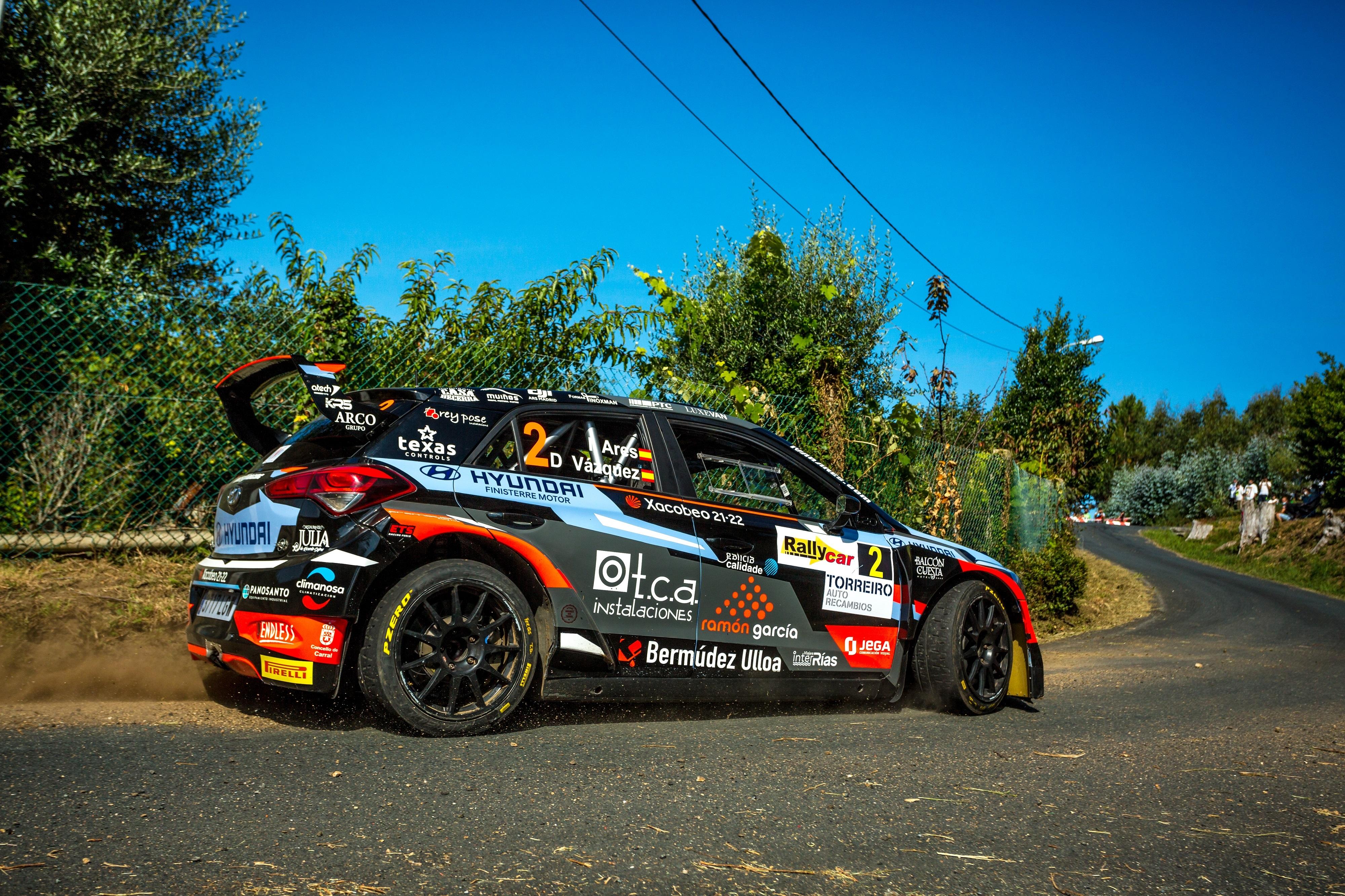 Ivan Ares - i20 R5 - Rallye de Ferrol