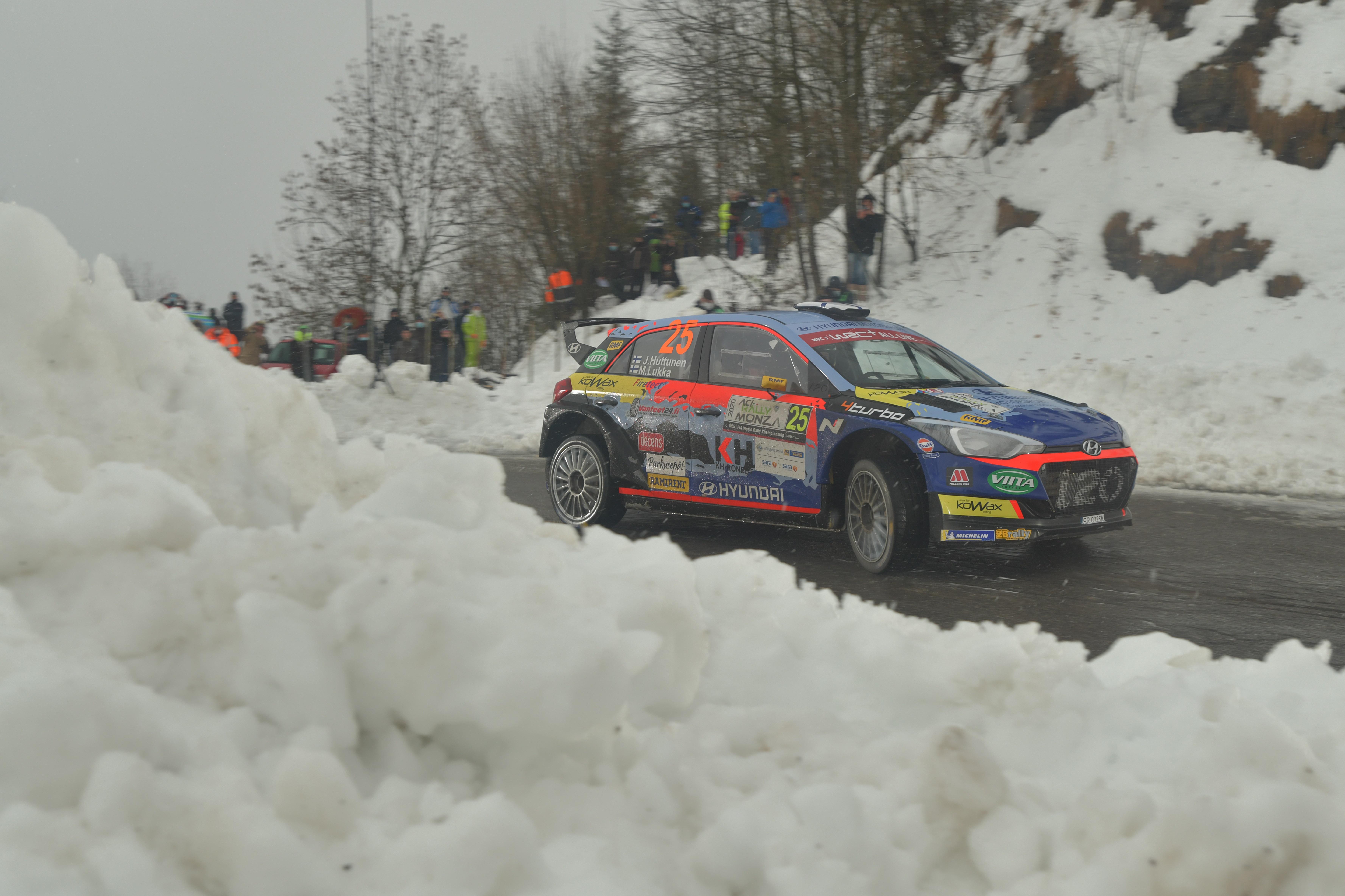 Jari Huttunen - Rally Monza