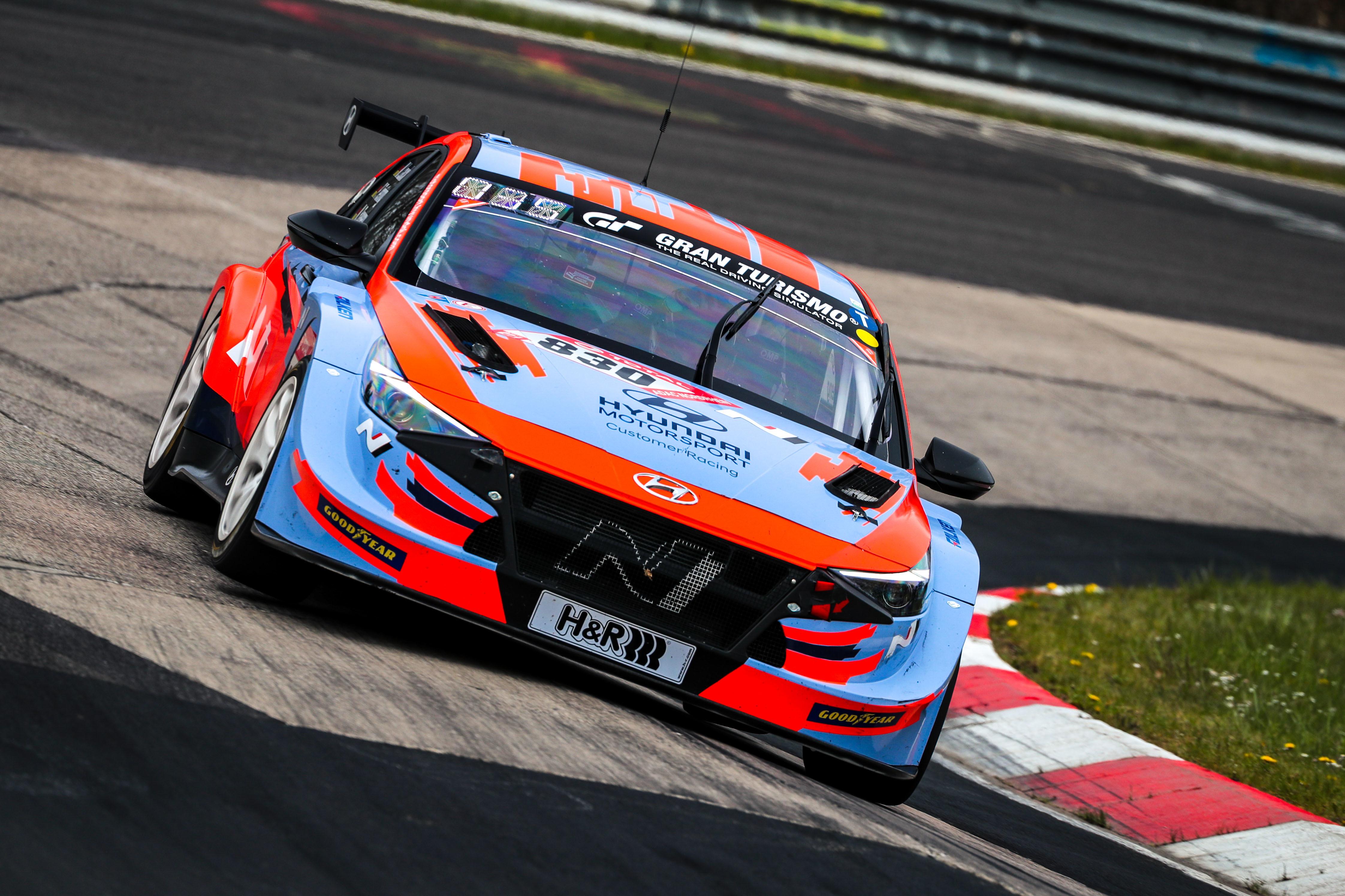 Elantra N TCR - Nürburgring 24 Hours Qualifying Race