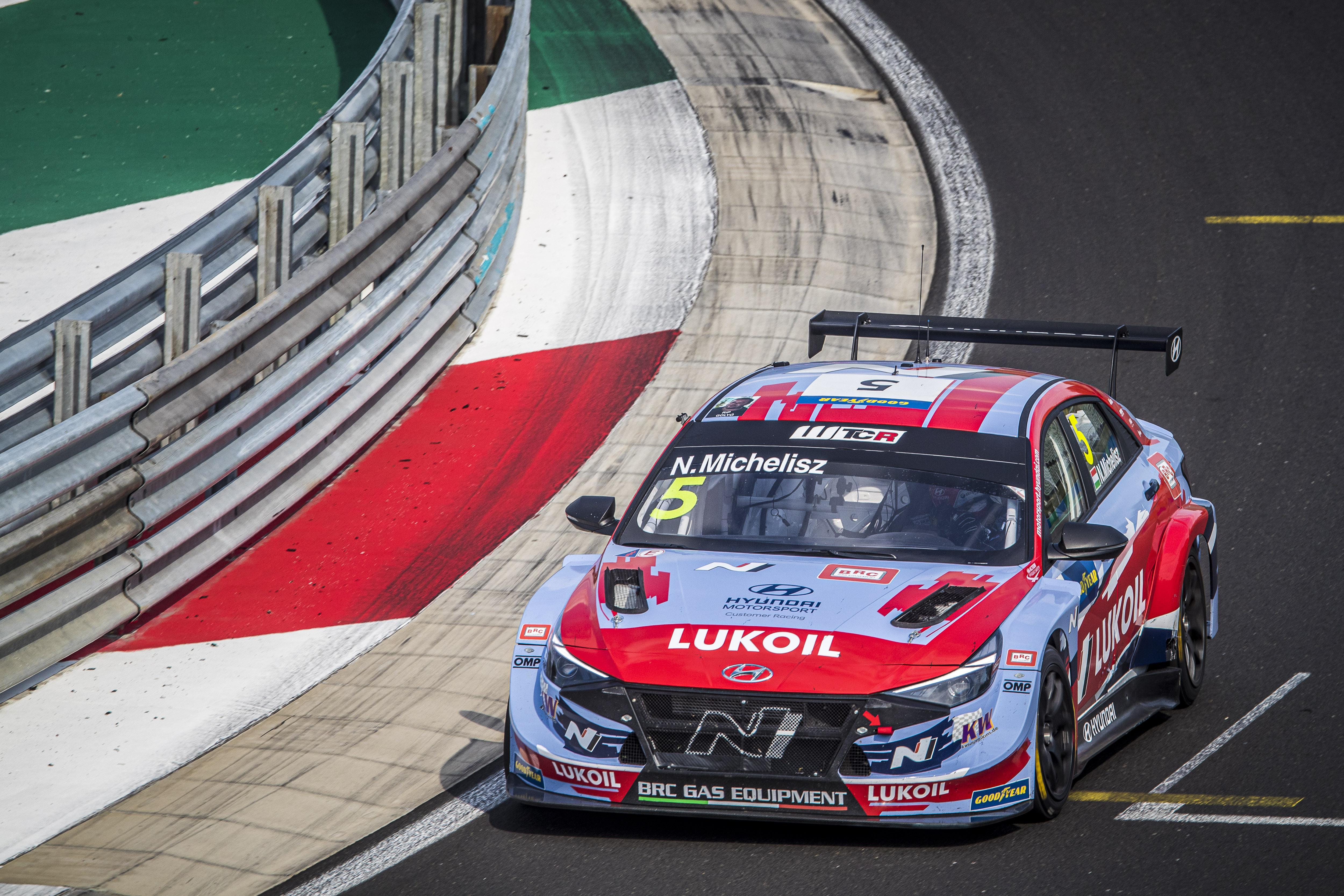 Norbert Michelisz - Elantra N TCR - WTCR Race of Hungary