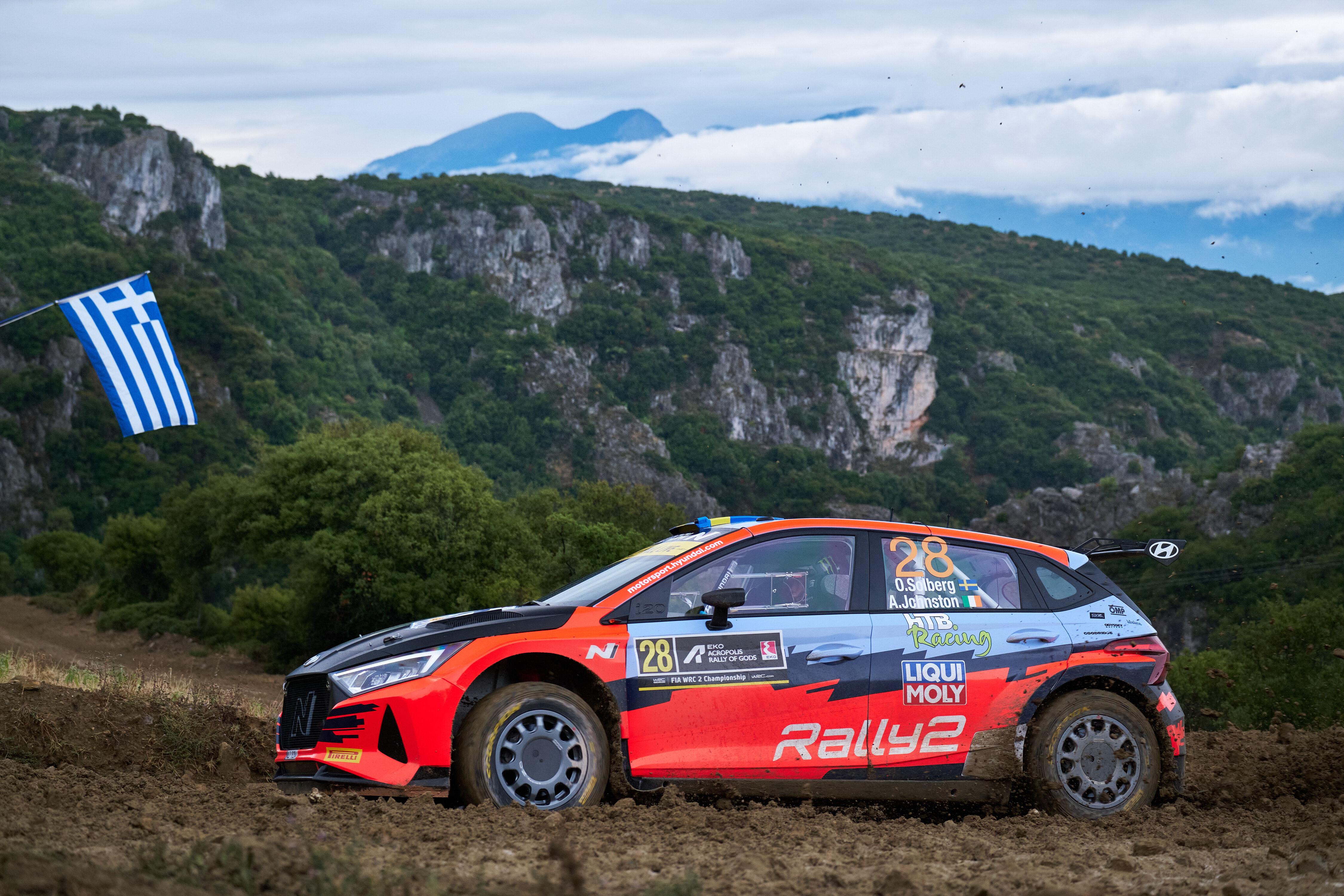 Oliver Solberg - Acropolis Rally - i20 N Rally2
