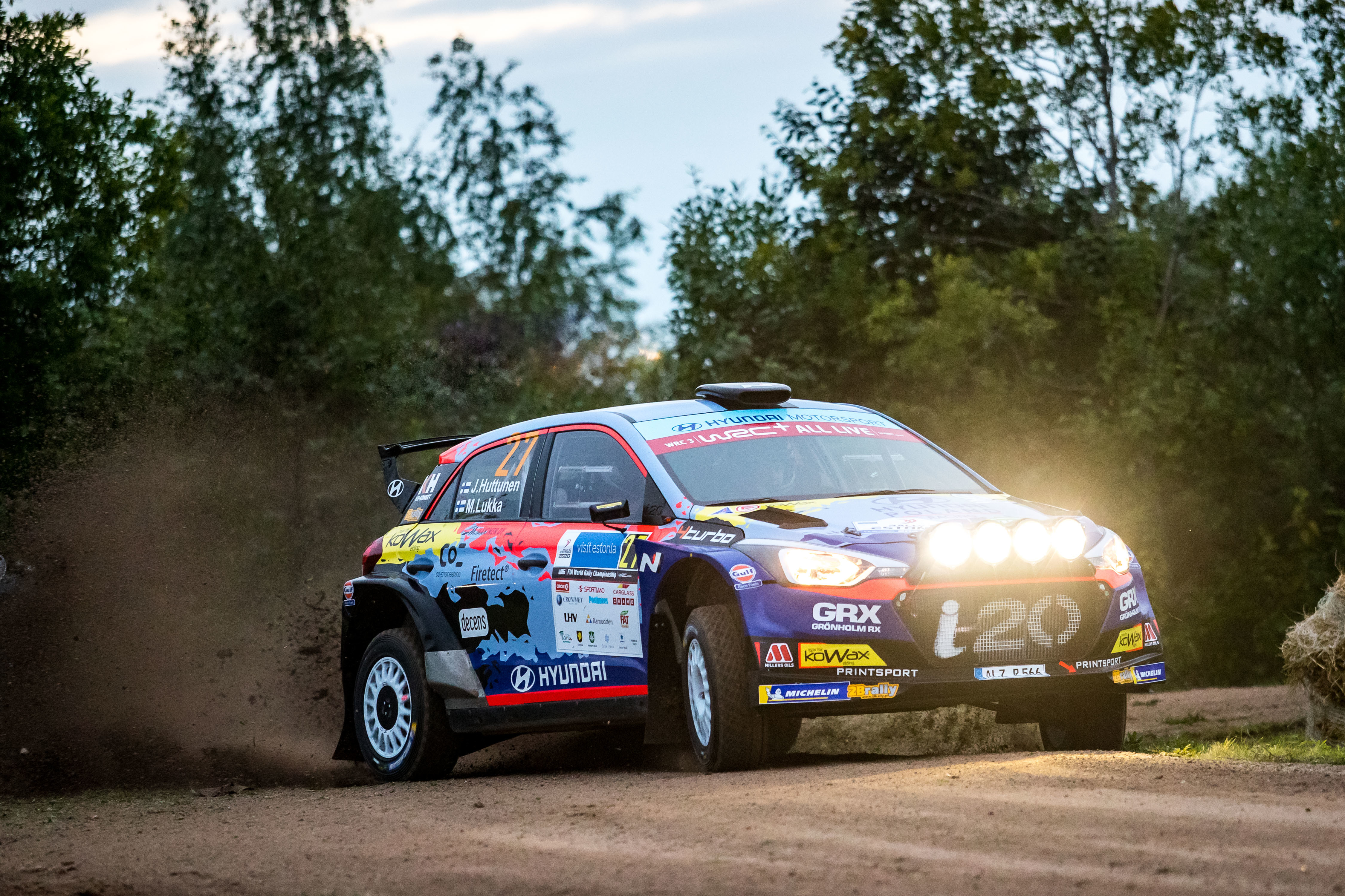 Jari Huttunen - Rally Estonia