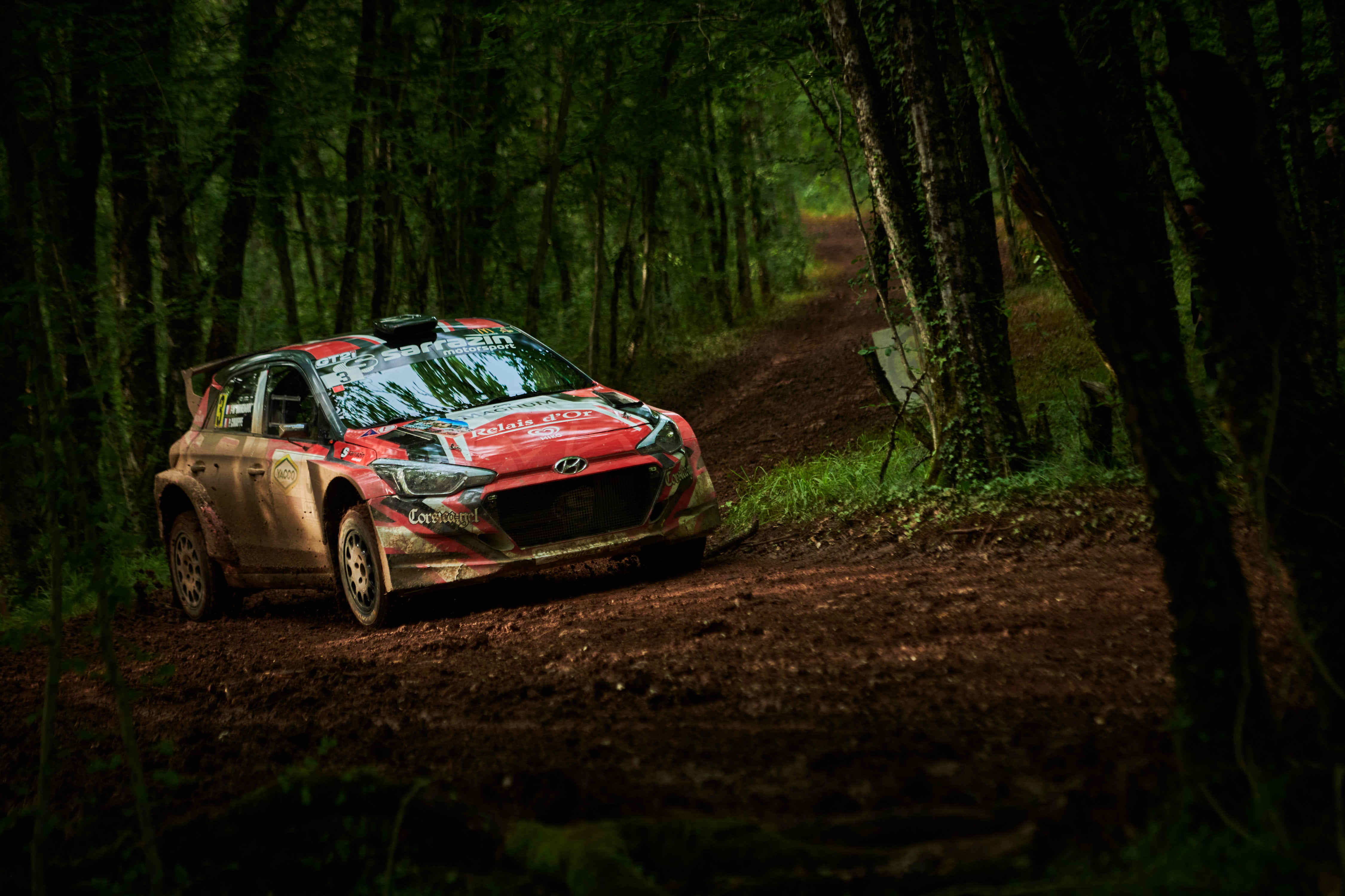 Jean-Marc Manzagol - Rallye Castine
