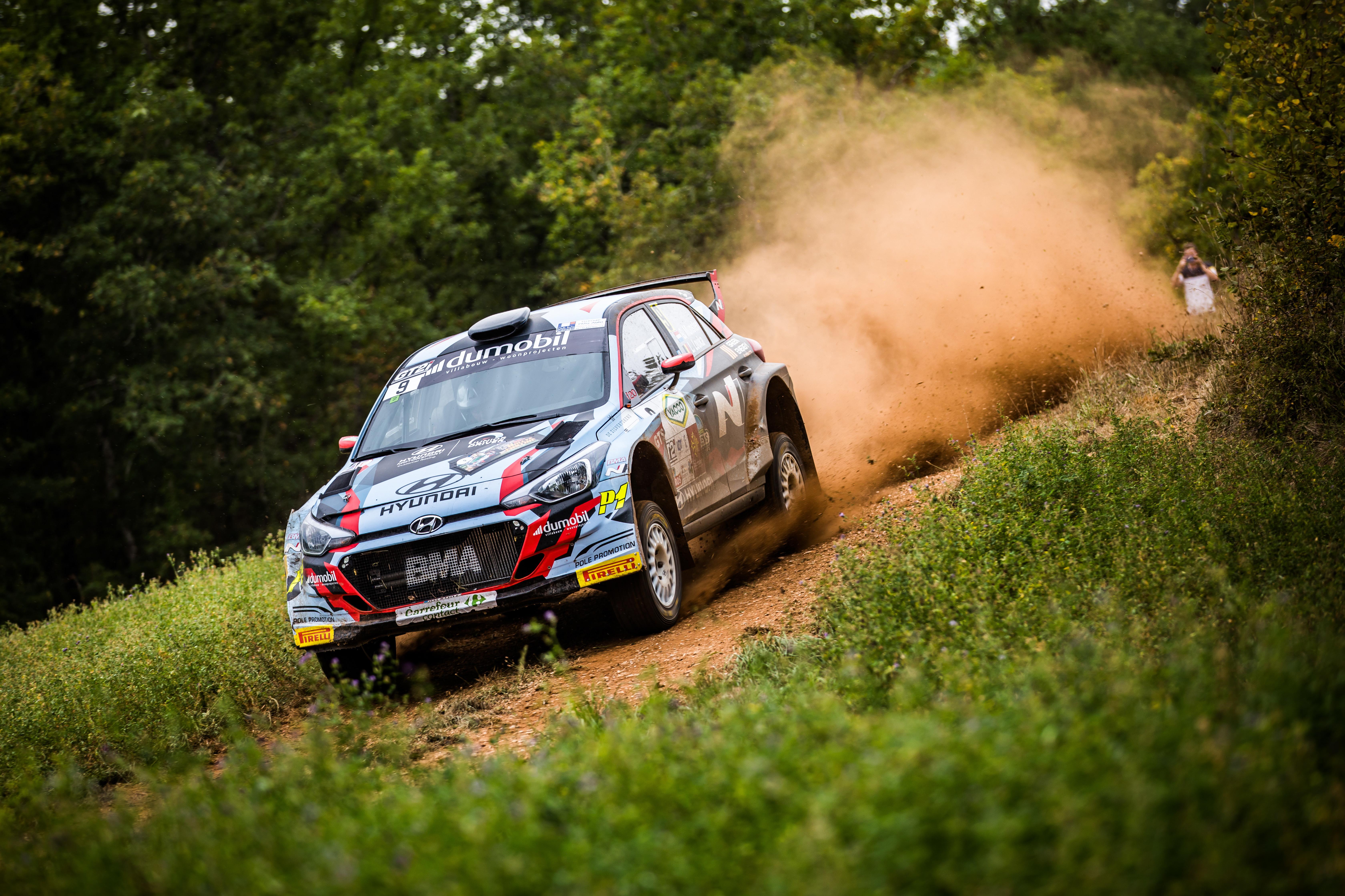 Gregoire Munster - Rallye Castine