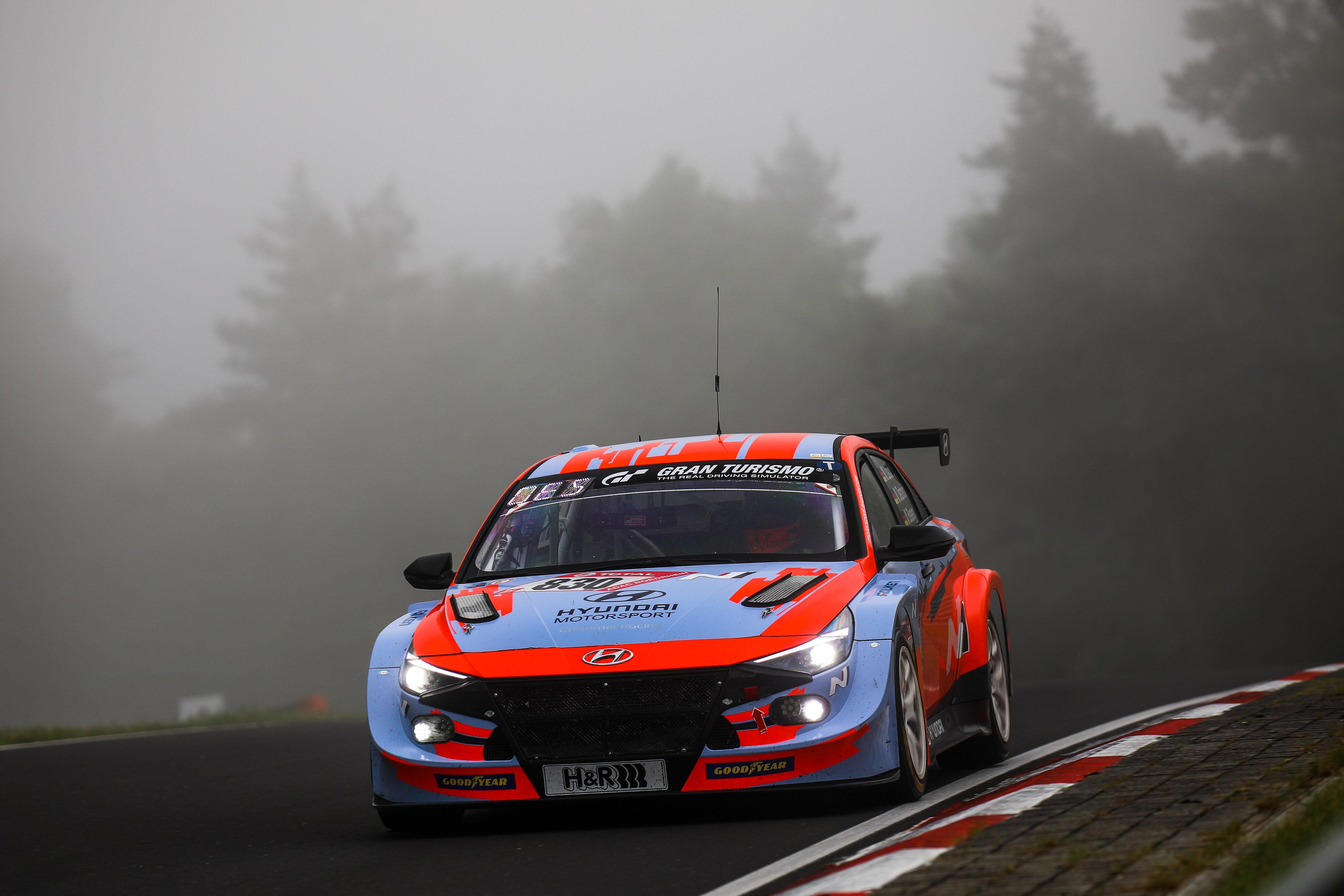 Hyundai Elantra N TCR - 2021 Nürburgring 24 Hours