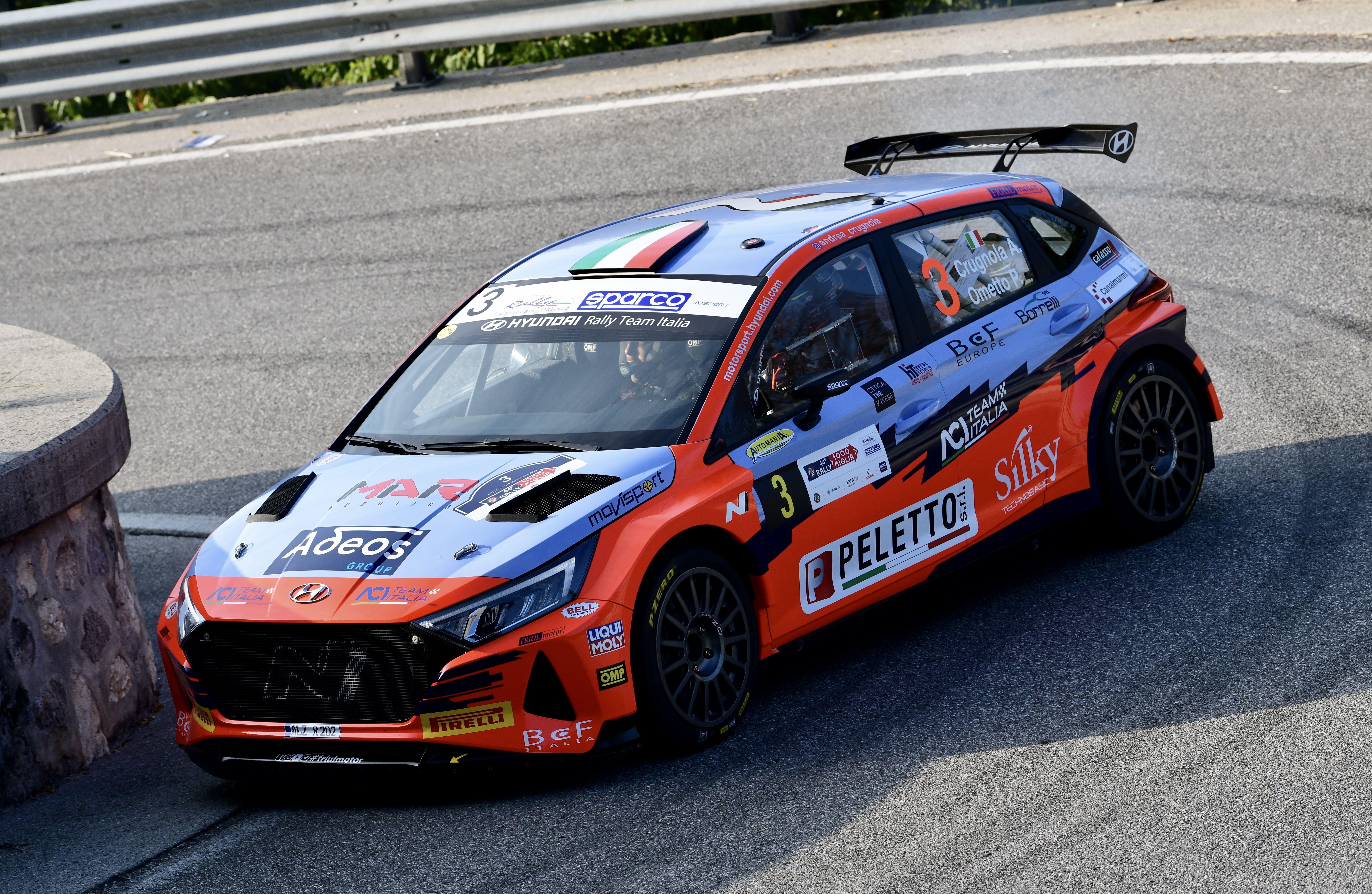 Andrea Crugnola - Rally 1000 Miglia - i20 N Rally2