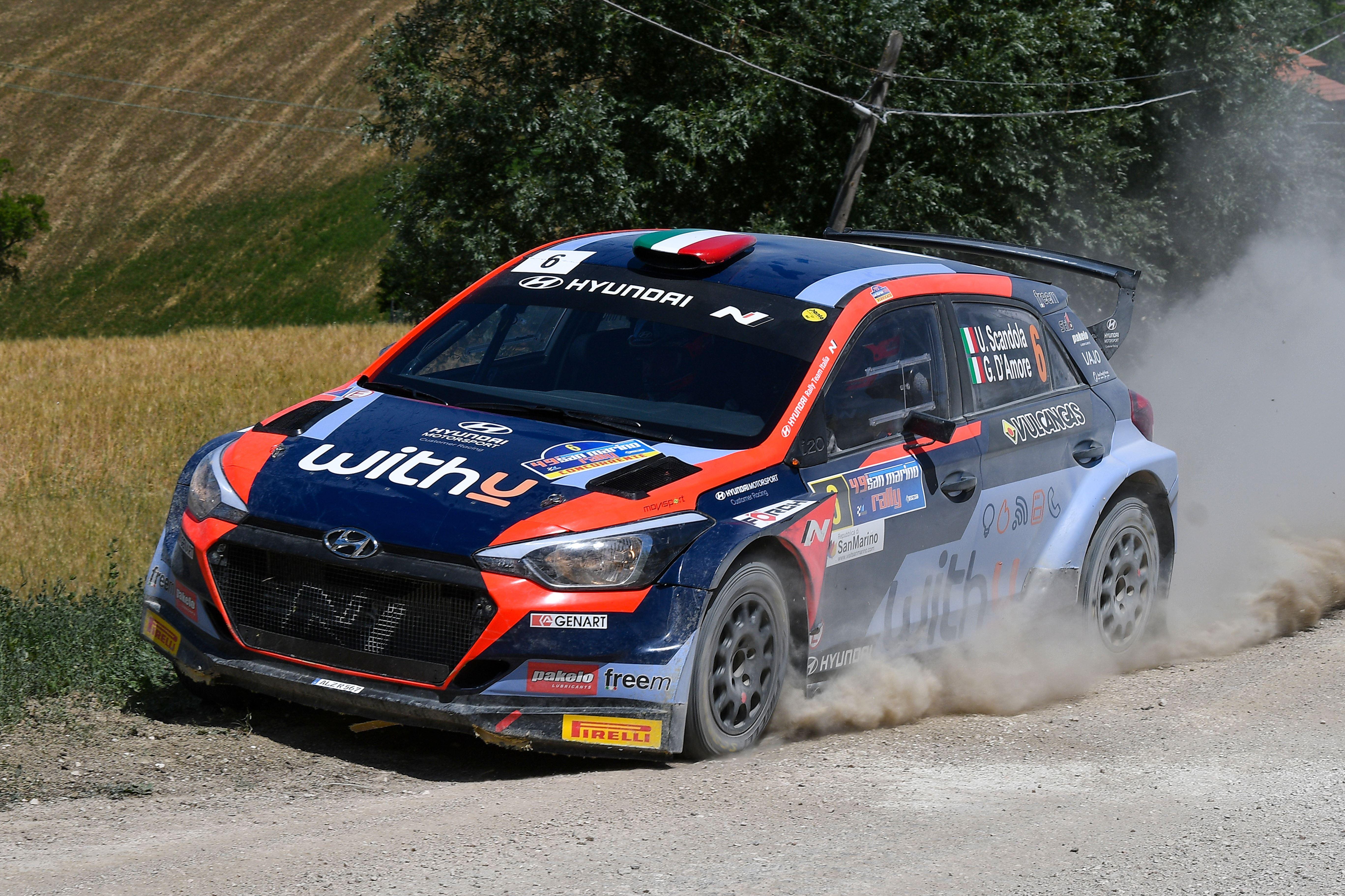Umberto Scandola - San Marino Rally