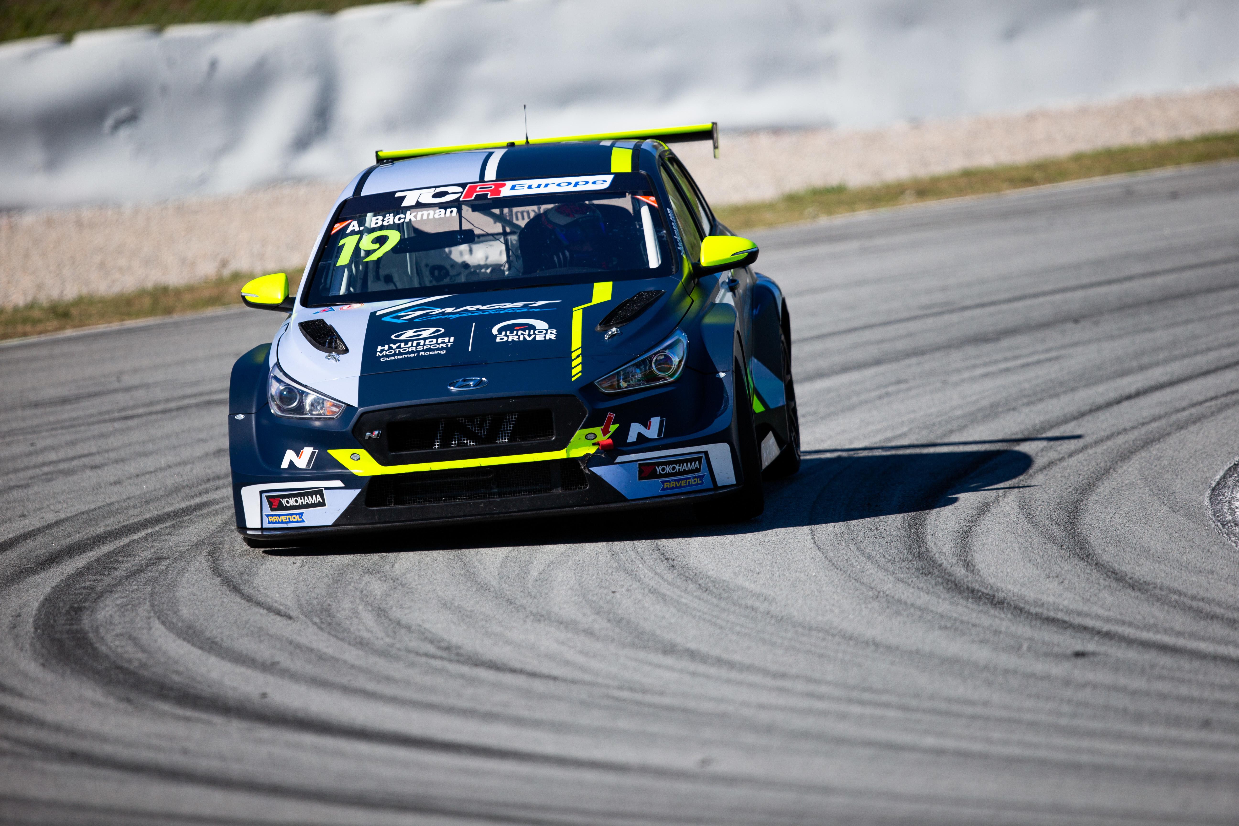 Andrea Bäckman - TCR Europe - Barcelona